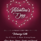 Upcoming Event: Sweetheart's Dinner – 2/12